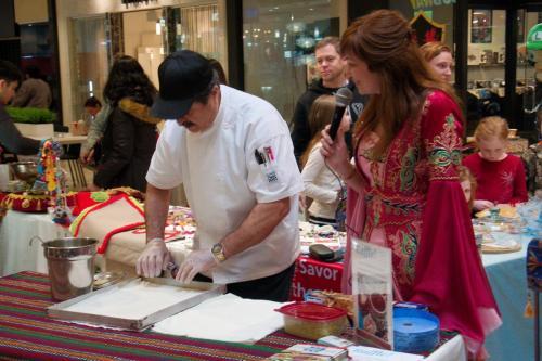 istanbul Blue Restaurant Baklava Making Show (12)