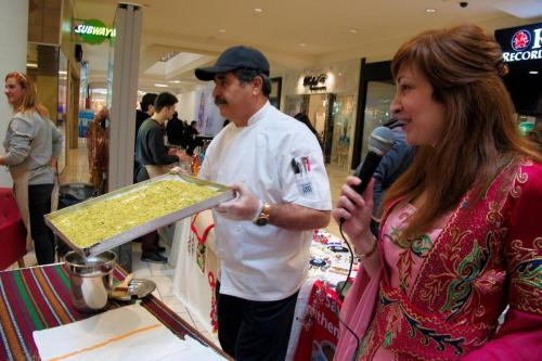 istanbul Blue Restaurant Baklava Making Show (15)