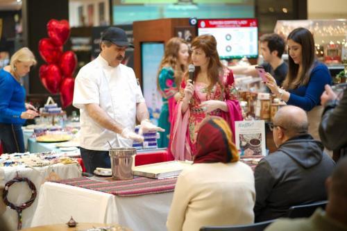 istanbul Blue Restaurant Baklava Making Show (7)